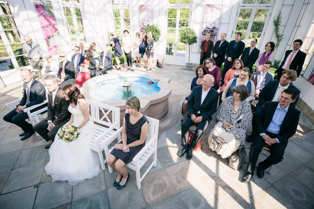 Hochzeit im Palmengarten Frankfurt  GLCKLICHT