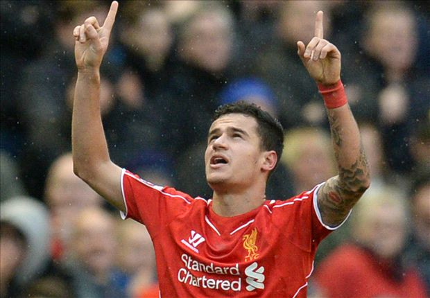 Rodgers and Liverpool turn Coutinho into the Premier League's great entertainer