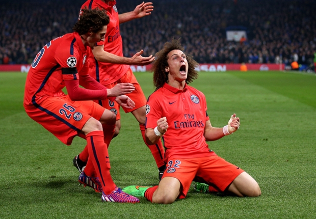David Luiz apologises for celebrating against Chelsea