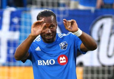 Drogba scores hat-trick in first Montreal Impact start
