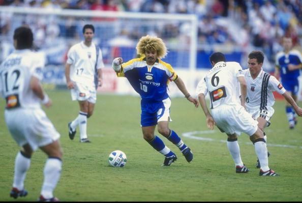 Miami Fusion midfielder and MLS legend Carlos Valderrama