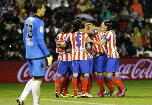 賽事精華:華拉度列 0-3 馬德里體育會 - Goal.com