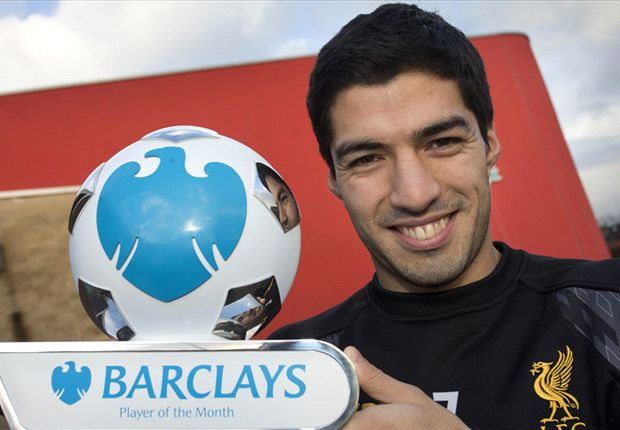Suarez & Pellegrini named Barclays Player and Manager of the Month for December