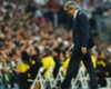 Manuel Pellegrini at the Santiago Bernabeu