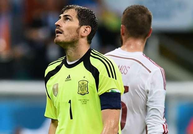De acordo com Kahn, Casillas demonstra não estar bem fisicamente
