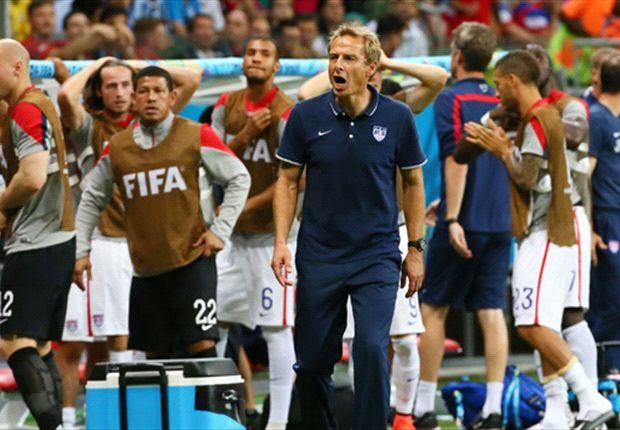 Derrotados pela Bélgica, Estados Unidos chegaram até as oitavas de final da Copa