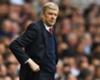 Arsene Wenger managing Arsenal against Tottenham