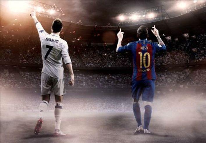 Ronaldo & Messi: Children of football