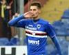 Sampdoria winger Patrik Shick