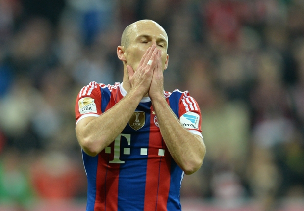 Robben: Bayern are not unbeatable
