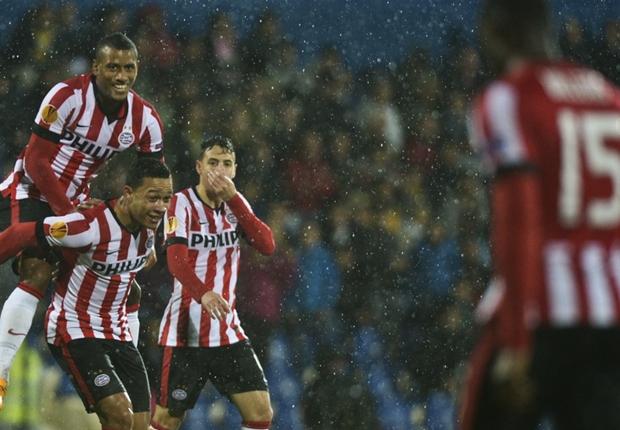 PSV raih kemenangan sulit atas Feyenoord.