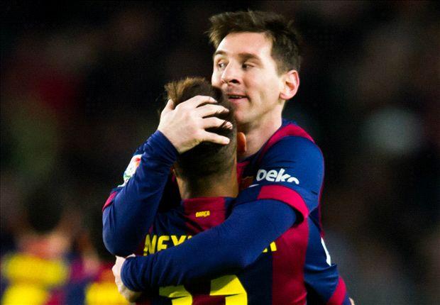 Messi passes 400 Barcelona goals