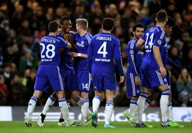 Mikel Obi nets first Champions League goal