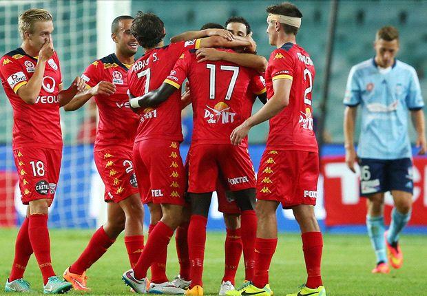Sydney FC 0-3 Adelaide United: Reds sink sorry Sky Blues