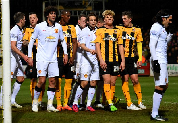 Man Utd dropped to Cambridge's level, fumes Van Gaal