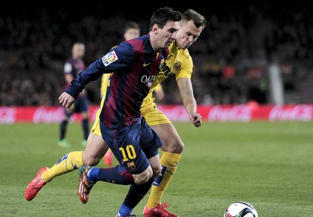Messi and Luis Enrique make peace
