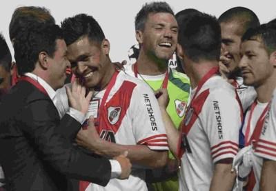 River Plate take Viagra ahead of San Jose clash