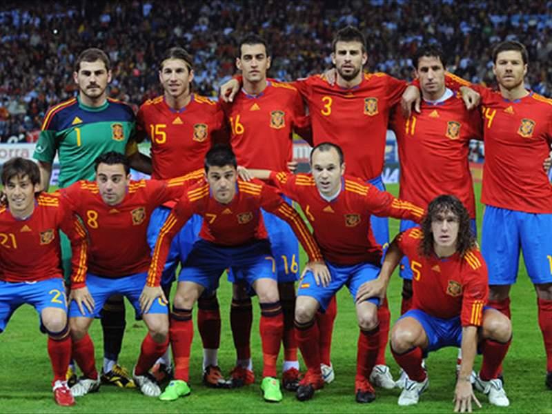 Resultado de imagem para spain 2010 world cup squad