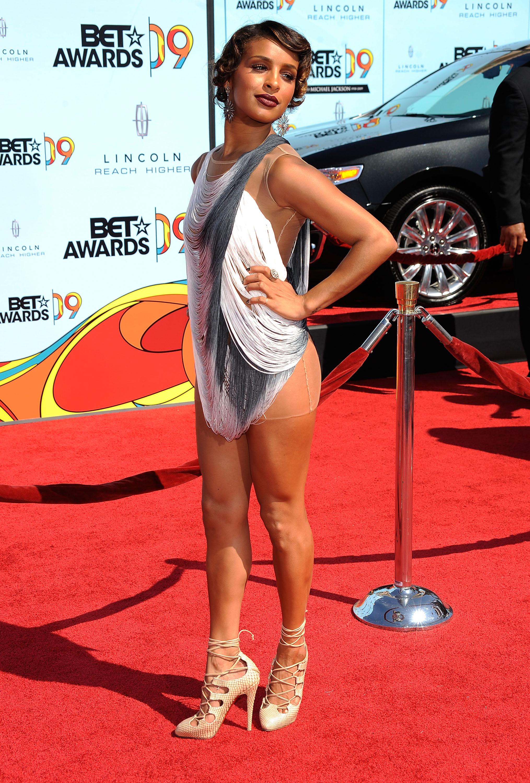 BET Awards Fug Carpet Melody Thornton  Go Fug Yourself