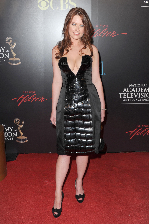 Daytime Emmy Awards Fug Carpet Melissa Archer  Go Fug