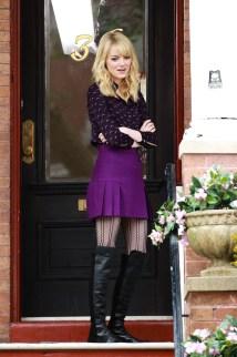 Emma Stone Gwen Stacy Skirt