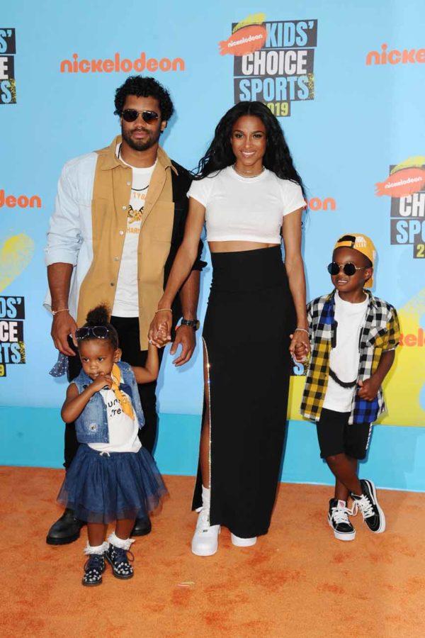 Kids Choice Sports Time : choice, sports, Russell, Wilson, Ciara, Future, Sienna, Nickelodeon