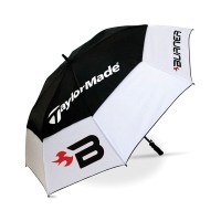 TaylorMade 64 Inch Burner Double Canopy Umbrella