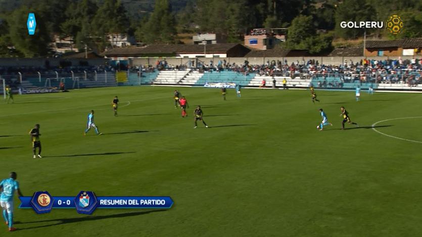 UTC empató con Sporting Cristal en Cajabamba