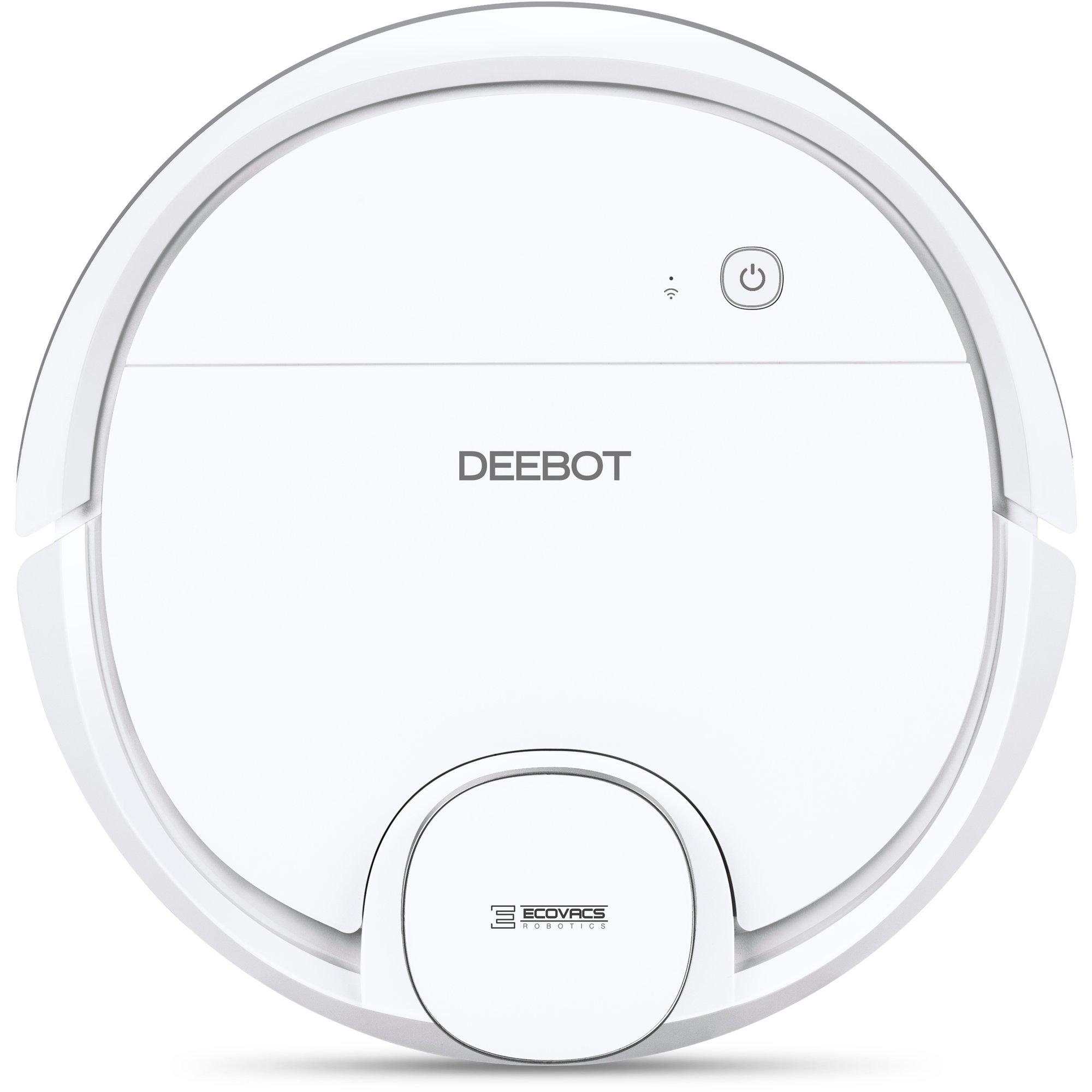 Deebot Ozmo 905 Hvit fra Ecovacs » Støvsuger og vasker gulvet