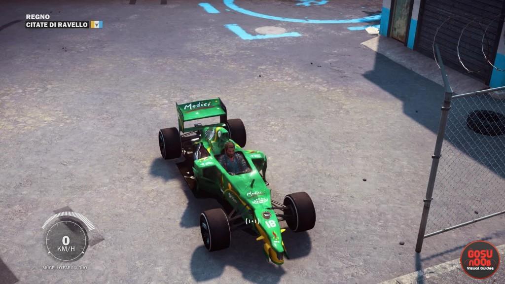 formula 1 car location