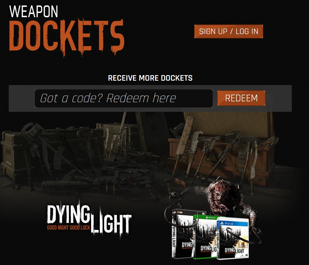 How Make Weapons Dying Light