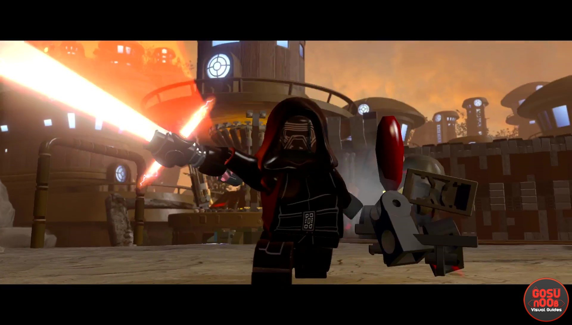 Lego Star Wars The Force Awakens Kylo Ren Spotlight Trailer