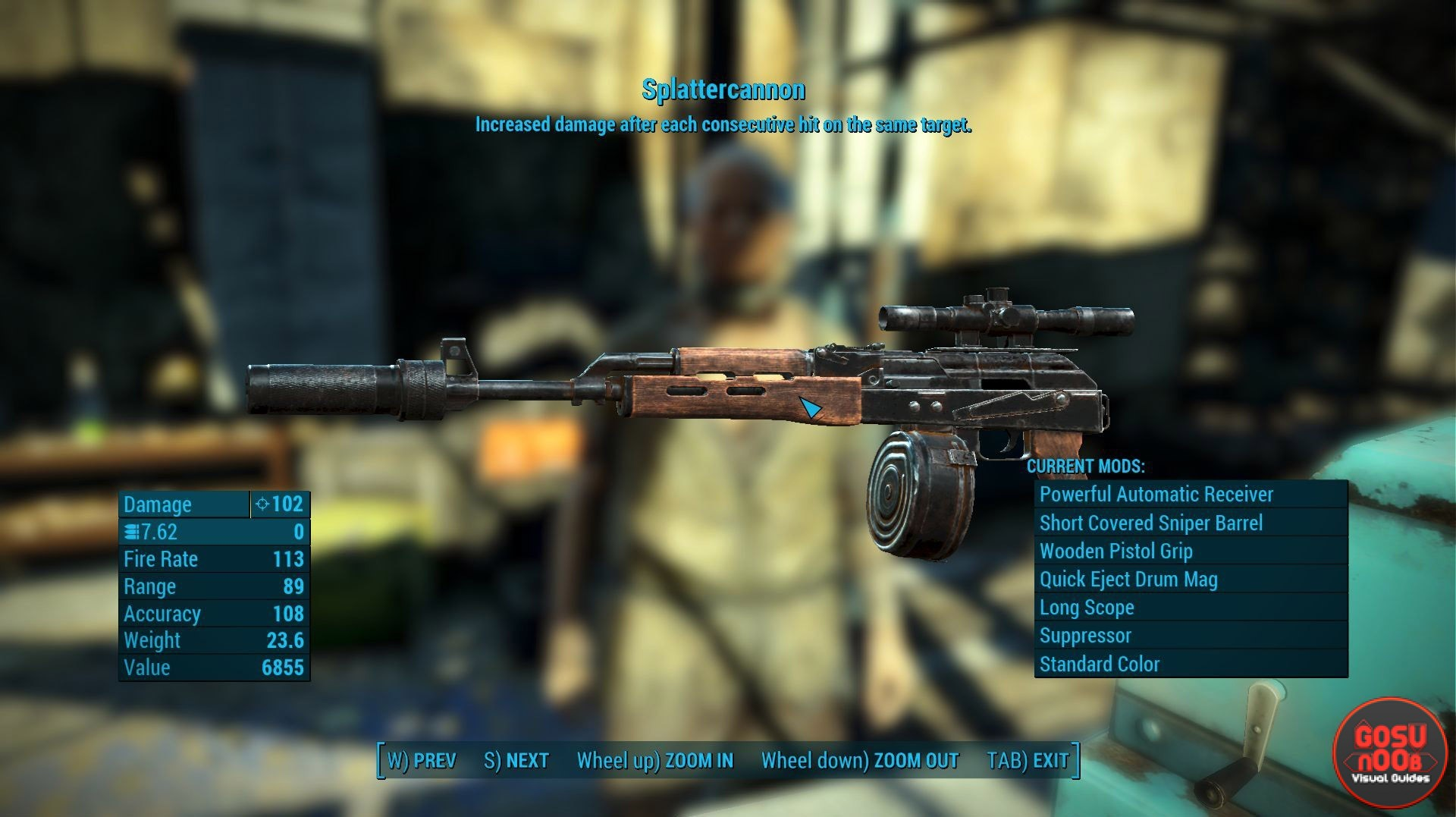 New Nuka World Unique Weapons  Fallout 4