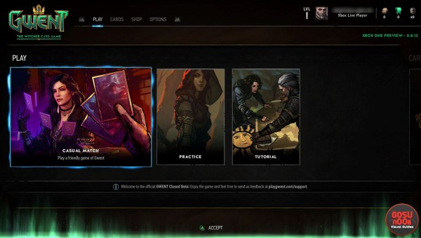 Gwent Card Game The Witcher Xbox One