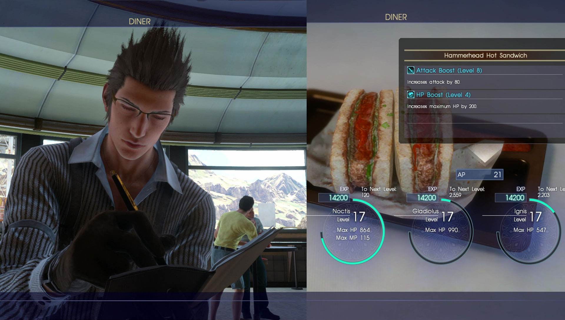 FFXV Cooking Guide