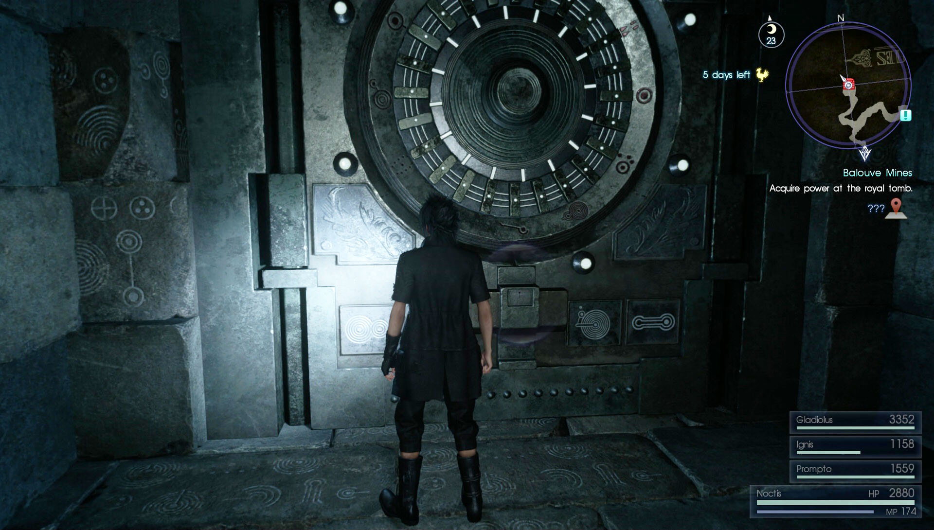 FFXV Dungeon Locked Door How To Unlock It