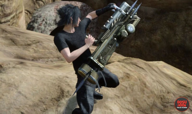 ffxv machinery weapon locations