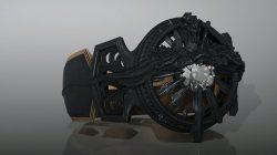 Black Hood Ring Of Lucii Dominator Ultima Blade FFXV