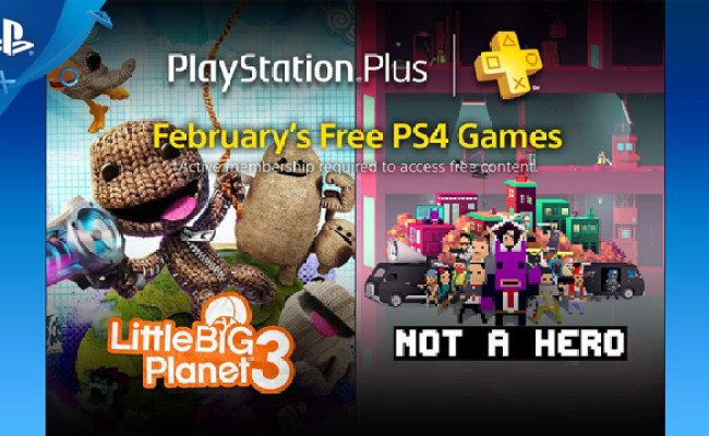 Playstation Plus Free Games Lineup For February 2017