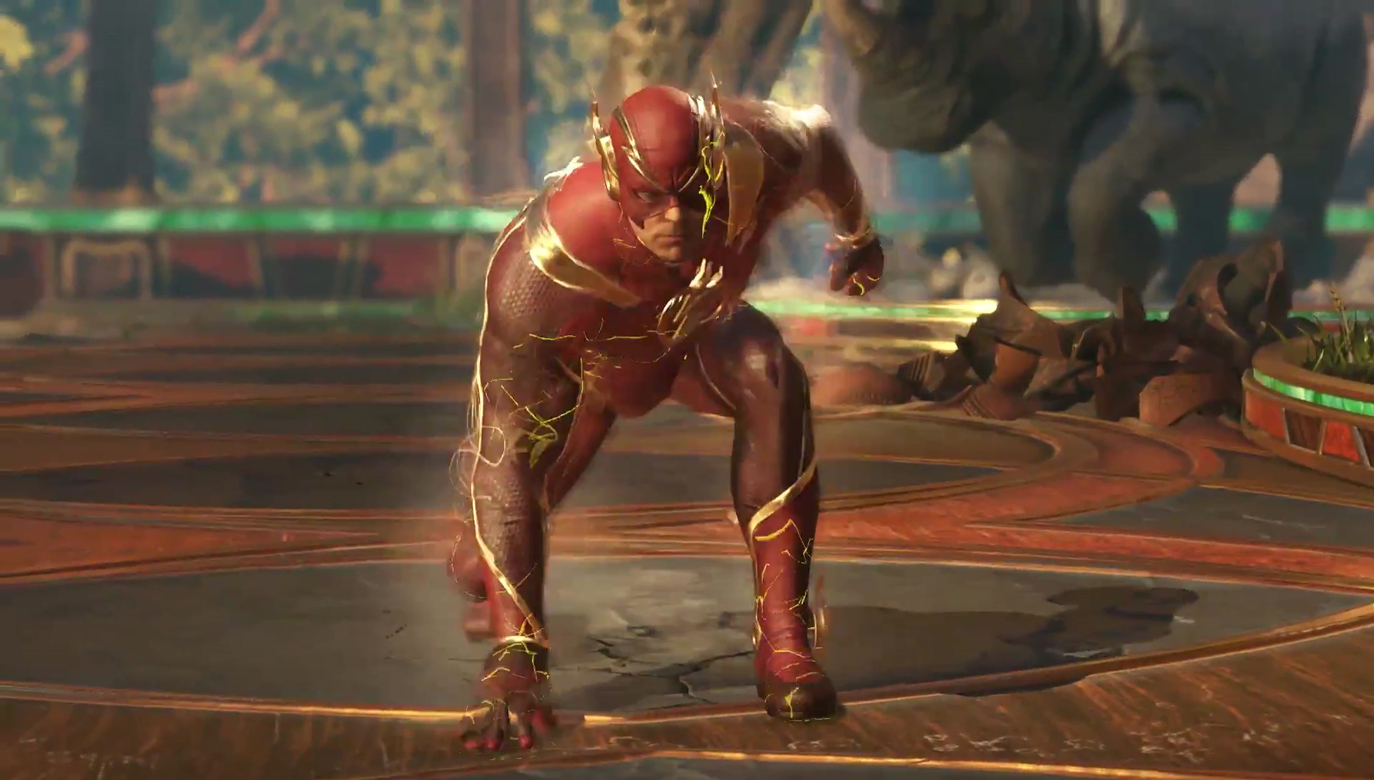 Zelda Hd Wallpaper Injustice 2 The Flash Gameplay Trailer Is Now Live