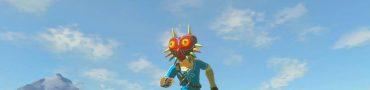 Zelda BotW Majora's Mask Location - Ancient Mask Quest