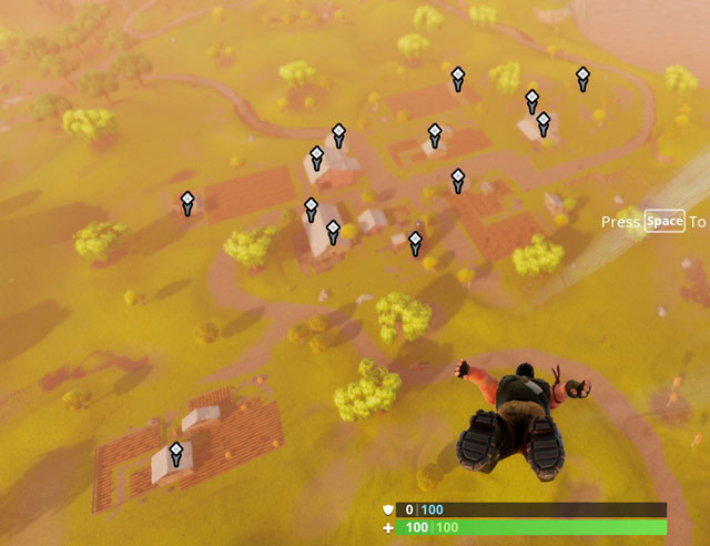 Fortnite Battle Royale Loot Chest Spawn Locations for