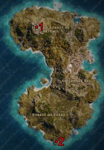 Ac Odyssey Interactive Map : odyssey, interactive, Assassin's, Creed, Odyssey, Ancient, Tablet, Locations, Upgrade