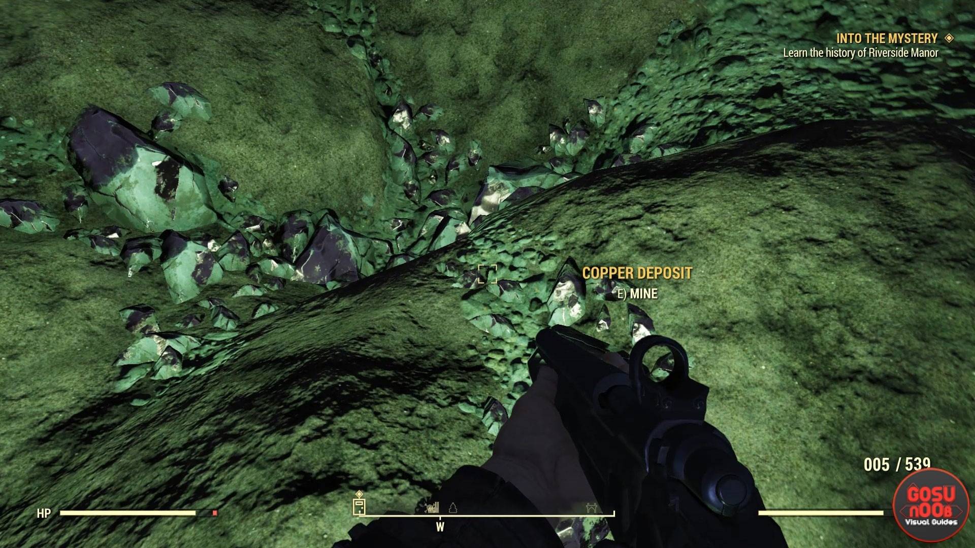 Fallout 76 Copper Deposit Locations How To Get Copper