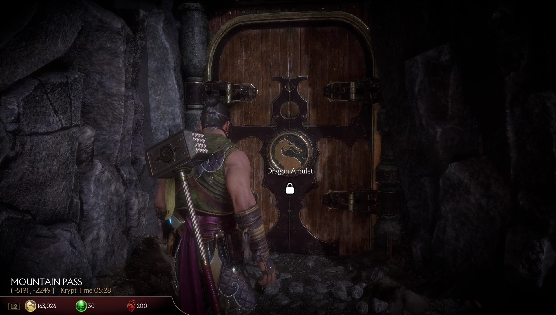 Ubicacin de MK11 Dragon Amulet  Mortal Kombat 11