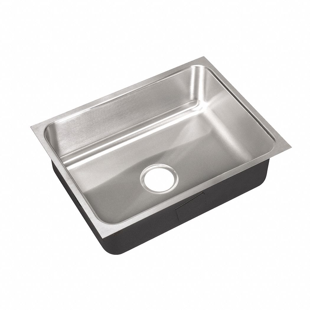 just manufacturing undermount group series 22 in x 16 in stainless steel undermount sink