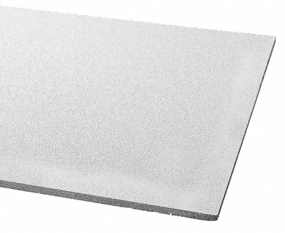 ceiling tile width 24 in length 48 in 3 4 in thickness mineral fiber pk 6