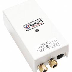 Instant Water Heater Kitchen Sink Retro Kids Eemax 120v Undersink Electric Tankless Watts 20 Amps Heaters 14u407 Ex2412t Grainger