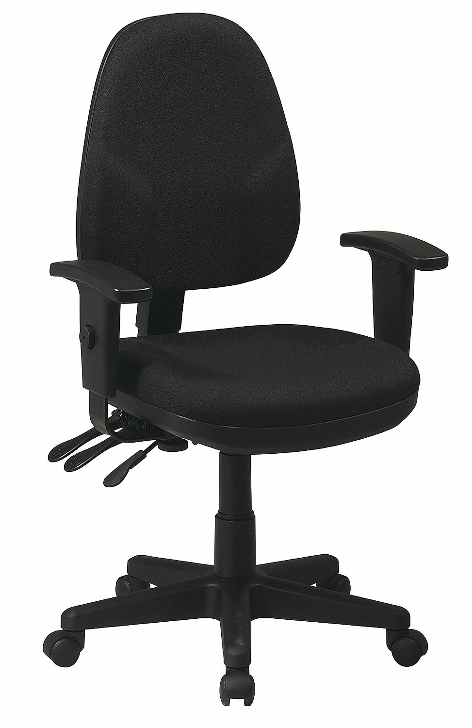 OFFICE STAR Silla para EscritorioTelaNegro  Sillas de
