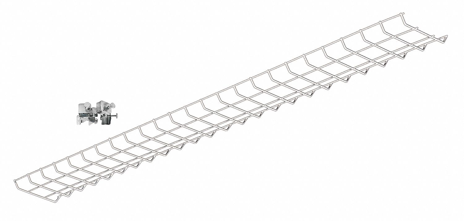 LITHONIA LIGHTING Wire Guard, Steel, White, For Use With Z